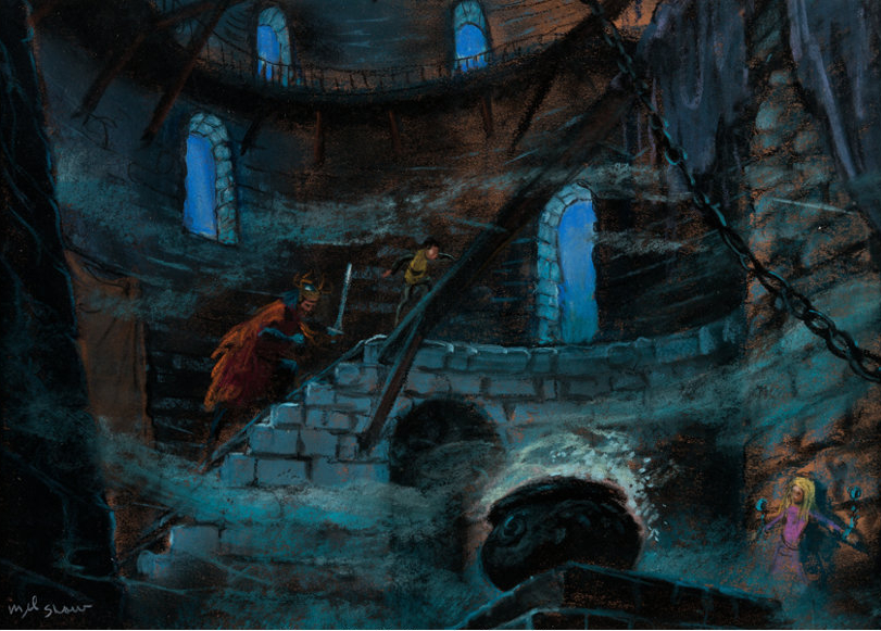 The Black Cauldron concept art