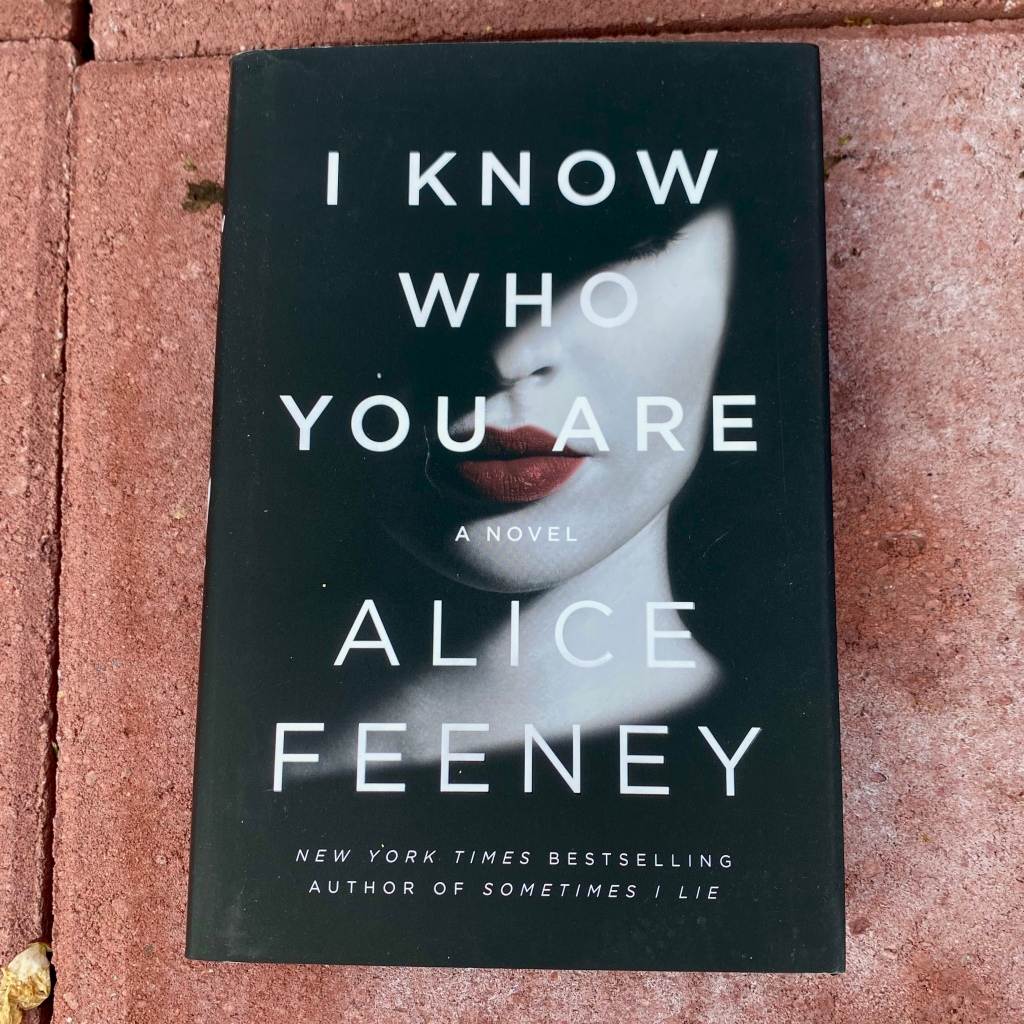 I Know Who You Are, book by Alice Feeney