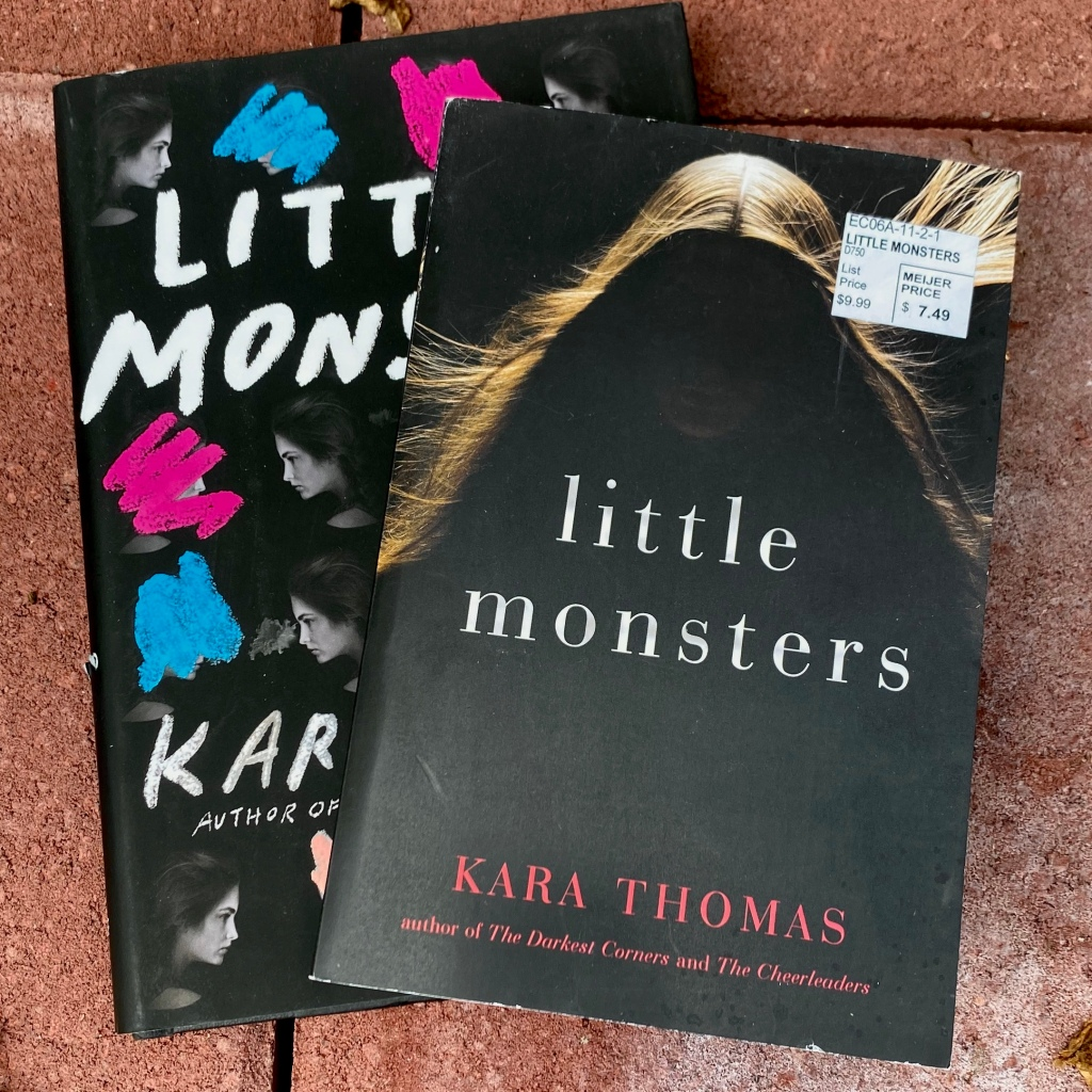 Little Monsters, book by Kara Thomas